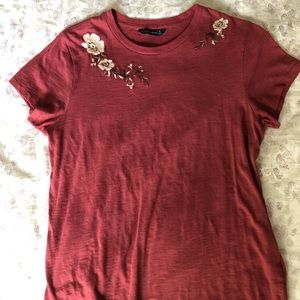 Abercrombie and Fitch Floral T